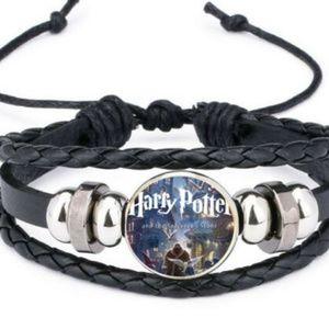 HARRY POTTER snap bracelet leather